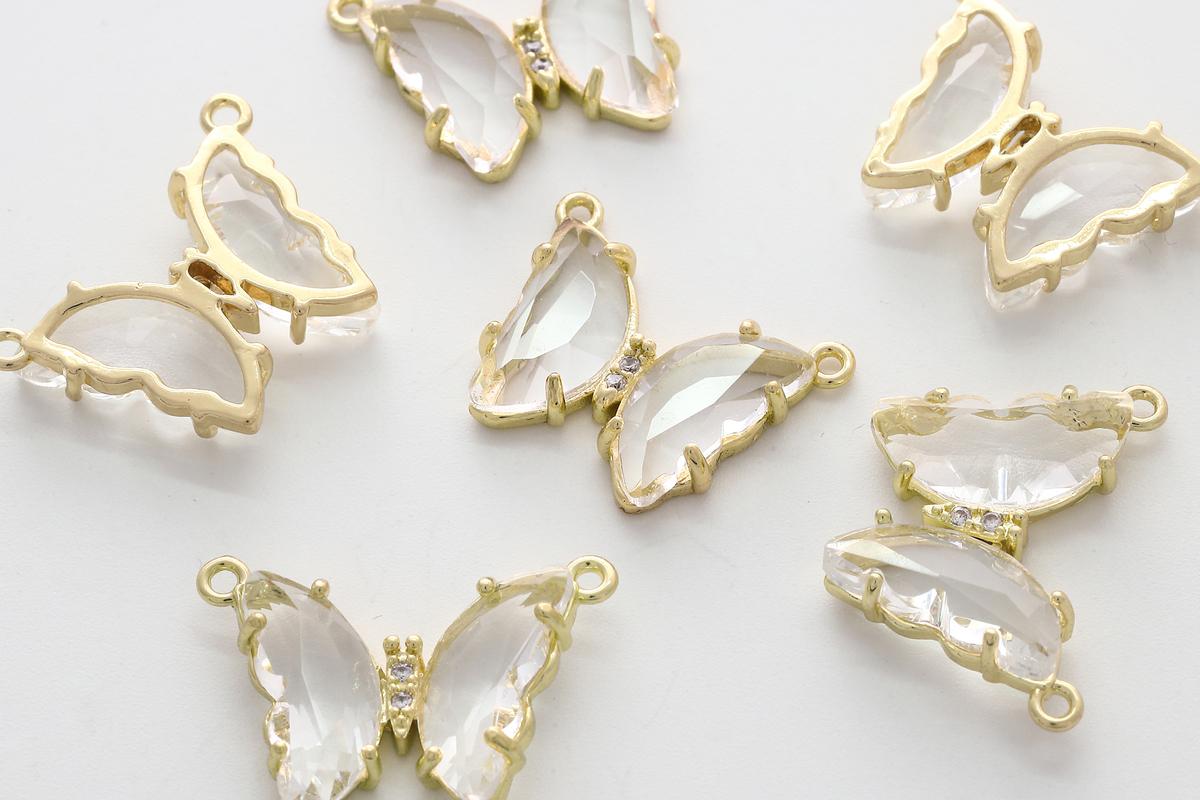 Star pendant Necklace charm Small charm Minimalist charm 8mm Nickel free Star Charm Blunt 16K gold plated brass 20pcs S19-G4